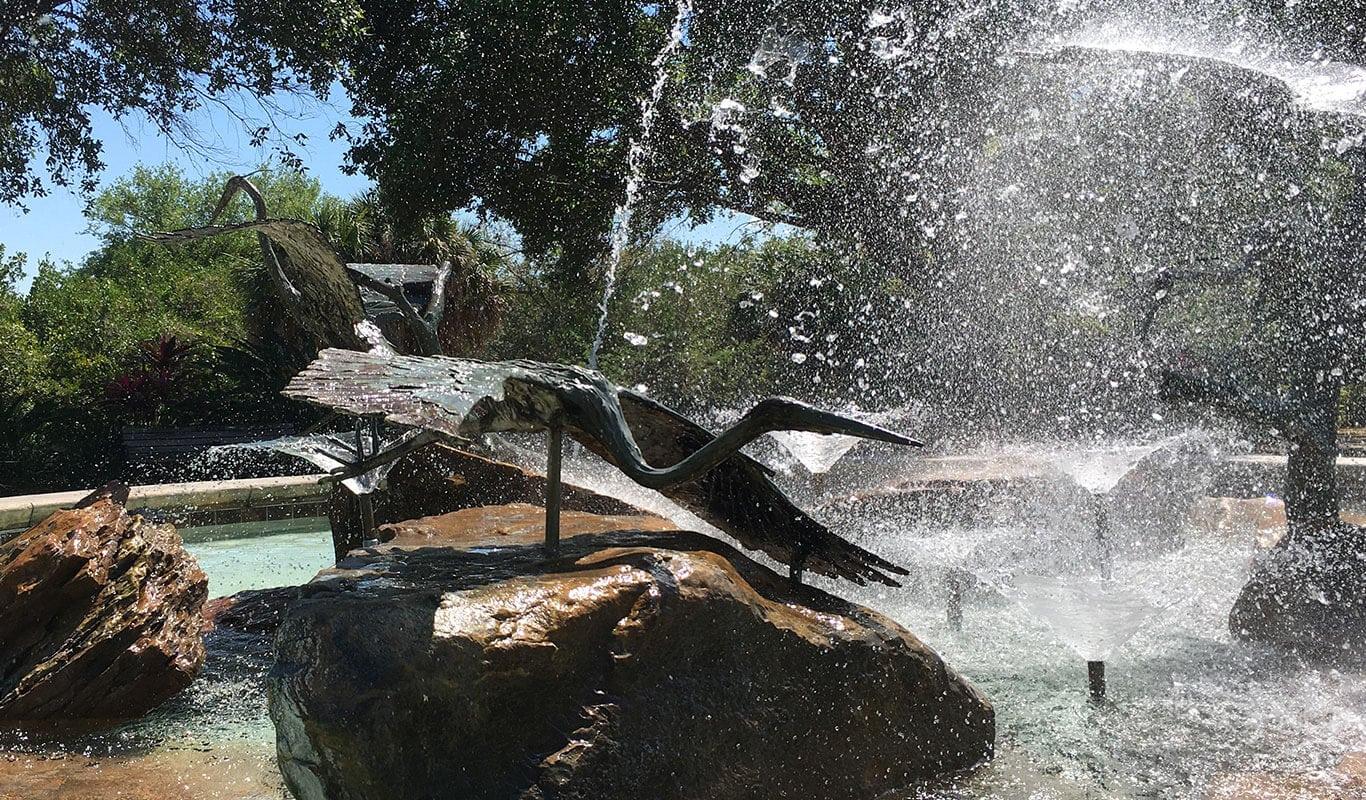Safety Harbor Florida Fountain